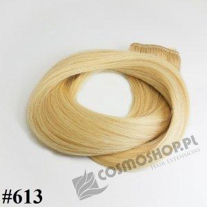 Pasmo Clip-in, długość 40 cm kolor #613 - JASNY BLOND