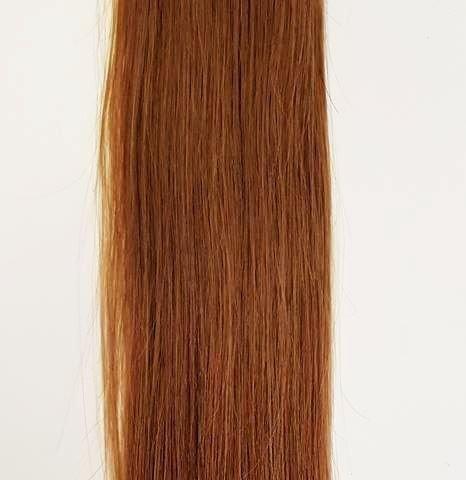 Zestaw włosów pod mikroringi, długość 40 cm kolor #10 - BARDZO JASNY BRĄZ KASZTANOWY