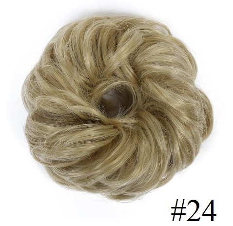 "Kok na gumce ""bombka"" #24 - chłodny blond"