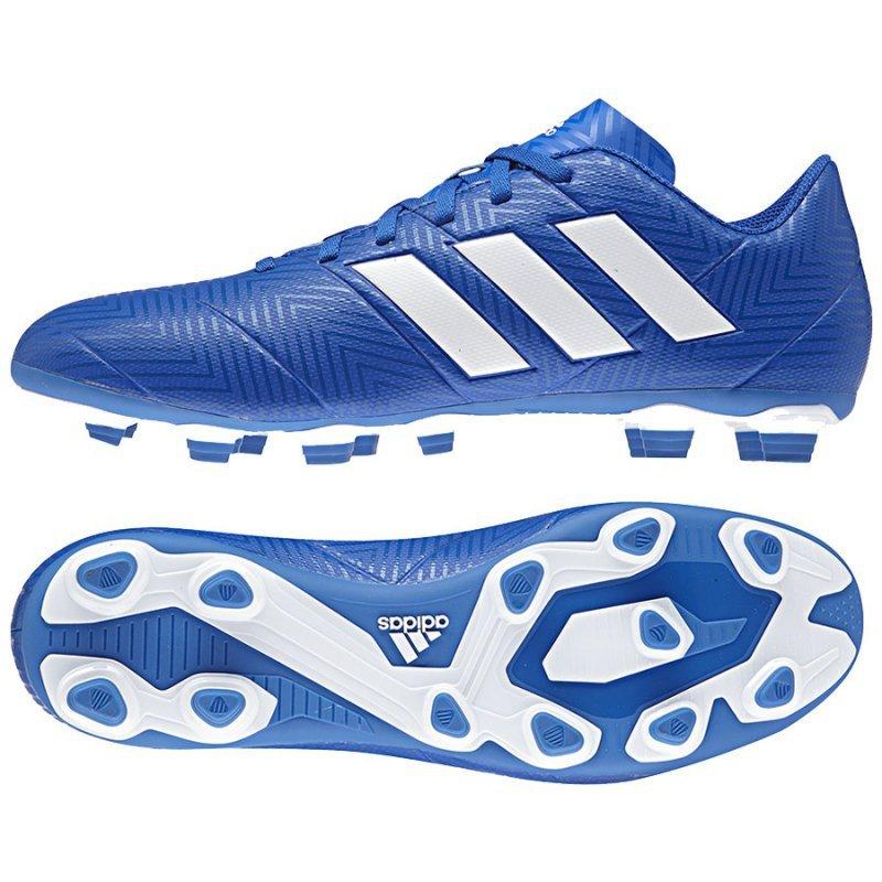 Buty adidas Nemeziz 18.4 FxG DB2115 niebieski 40