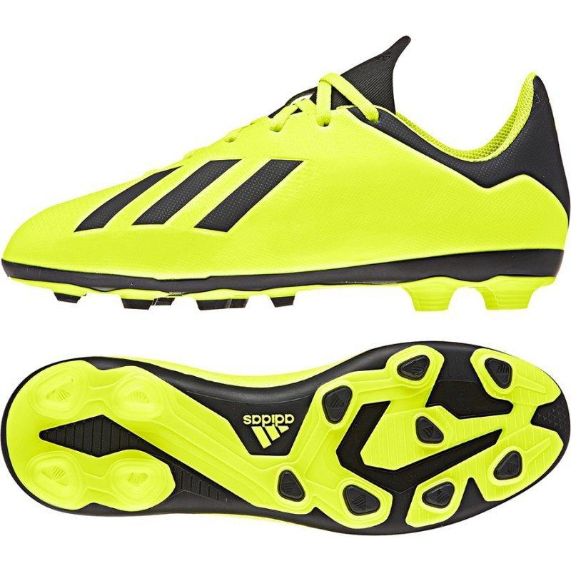 Buty adidas X 18.4 FxG DB2420 żółty 38