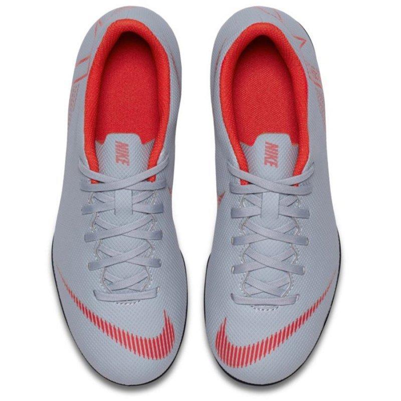 Buty Nike Jr Mercurial Vapor 12 Club GS MG AH7350 060 szary 35 1/2
