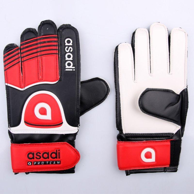 Rękawice Asadi Junior czerwony 4