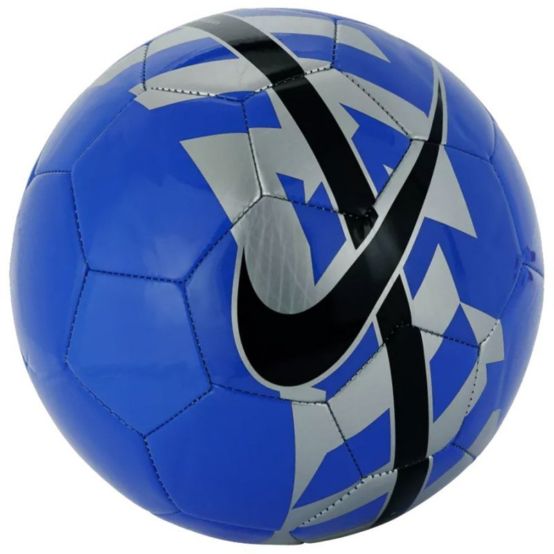 Piłka Nike React niebieska niebieski 4