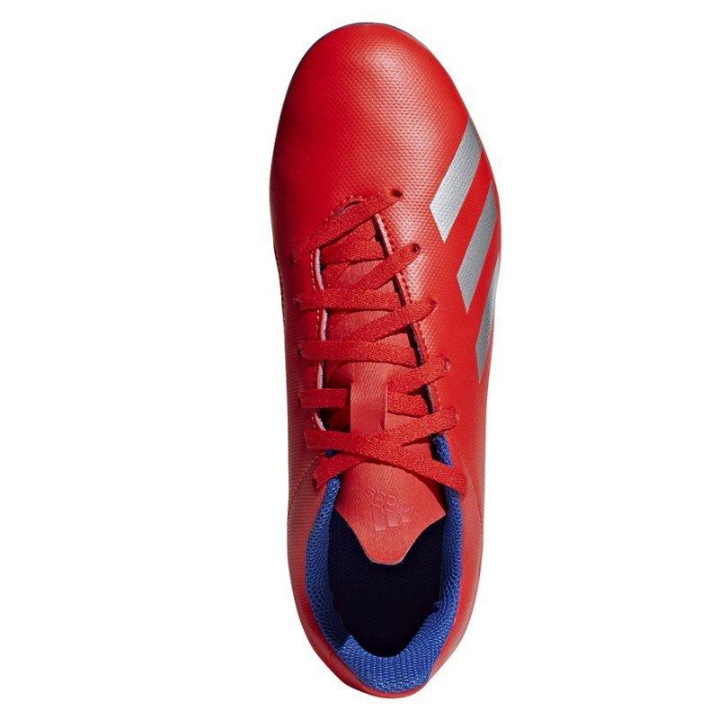 Buty adidas X 18.4 FXG J BB9379 czerwony 35