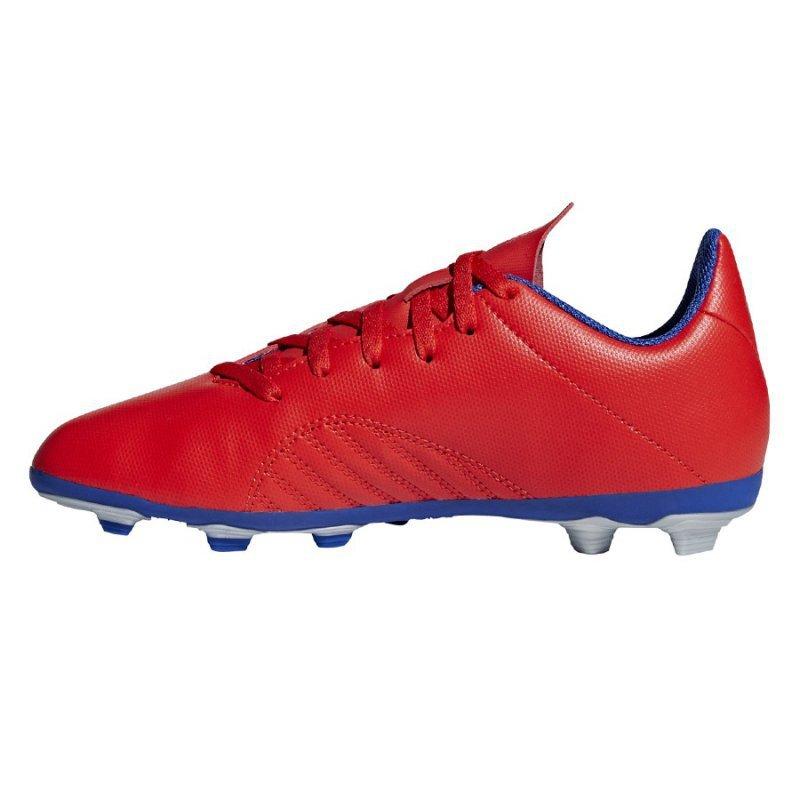 Buty adidas X 18.4 FXG J BB9379 czerwony 30