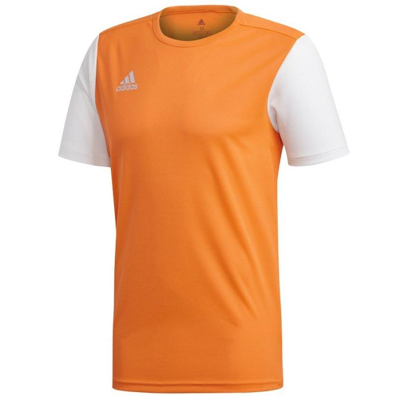 Koszulka adidas Estro 19 JSY DP3236 pomarańczowy 140 cm