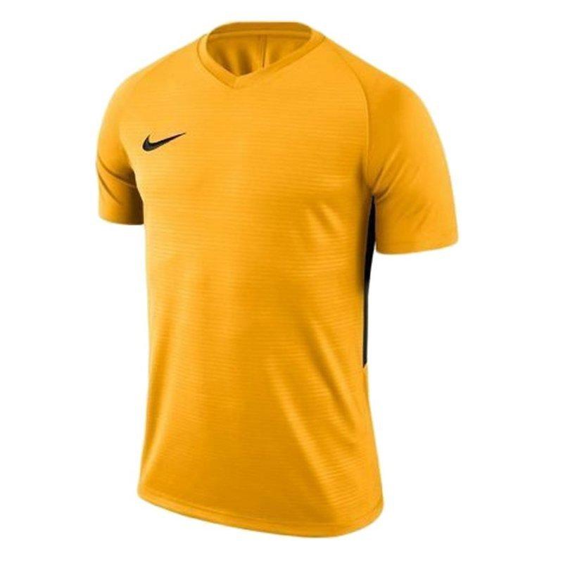 Koszulka Nike Y Tiempo Premier JSY SS 894111 739 żółty XL (158-170cm)