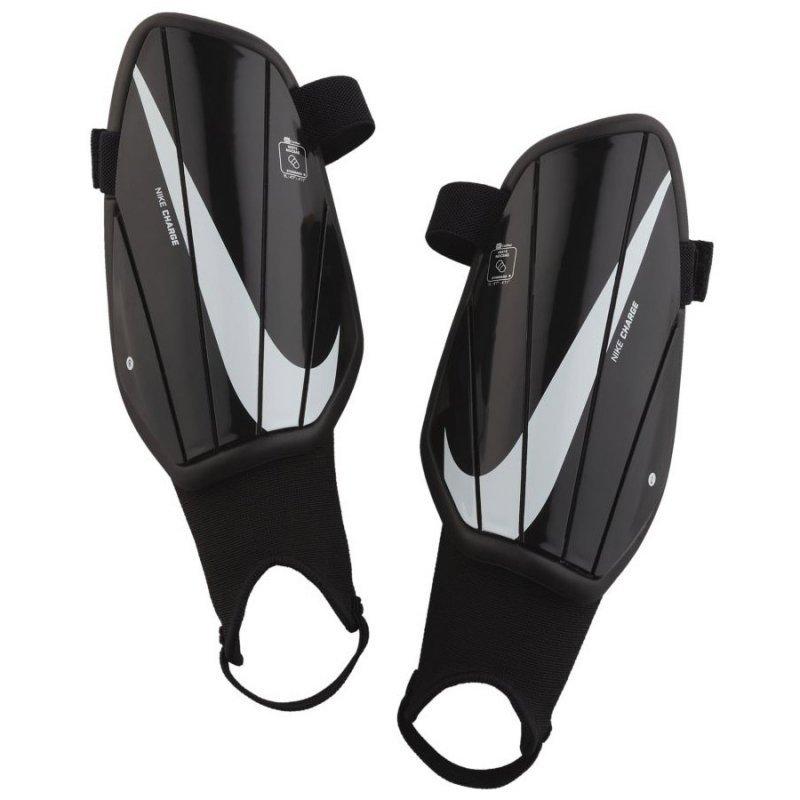 Nagolenniki Nike Y NK CHRG GRD SP2165 010 czarny M