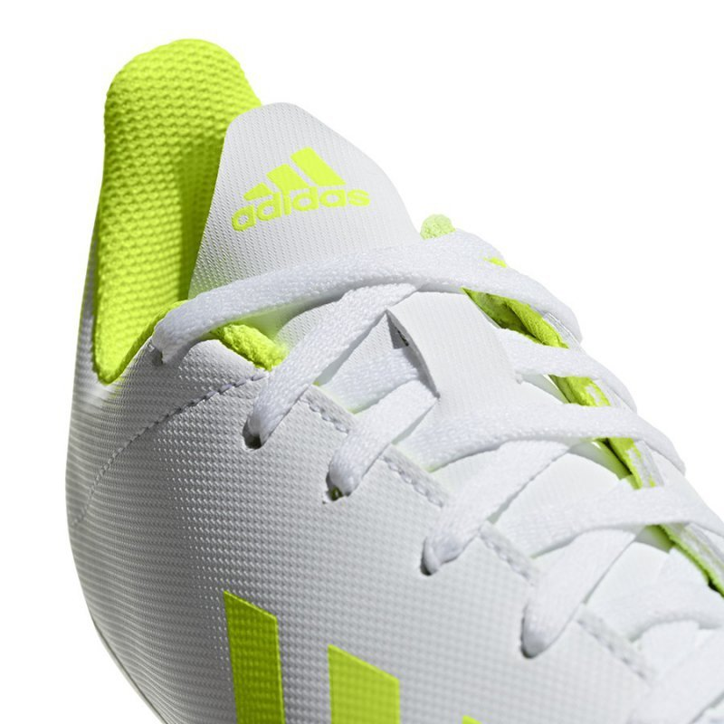 Buty adidas X 18.4 FxG J BB9380 biały 38 2/3
