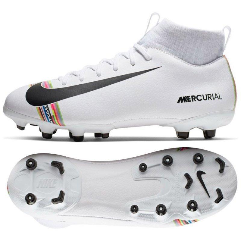 Buty Nike JR Mercurial Superfly 6 Academy GS CR7 AJ3111 109 biały 32