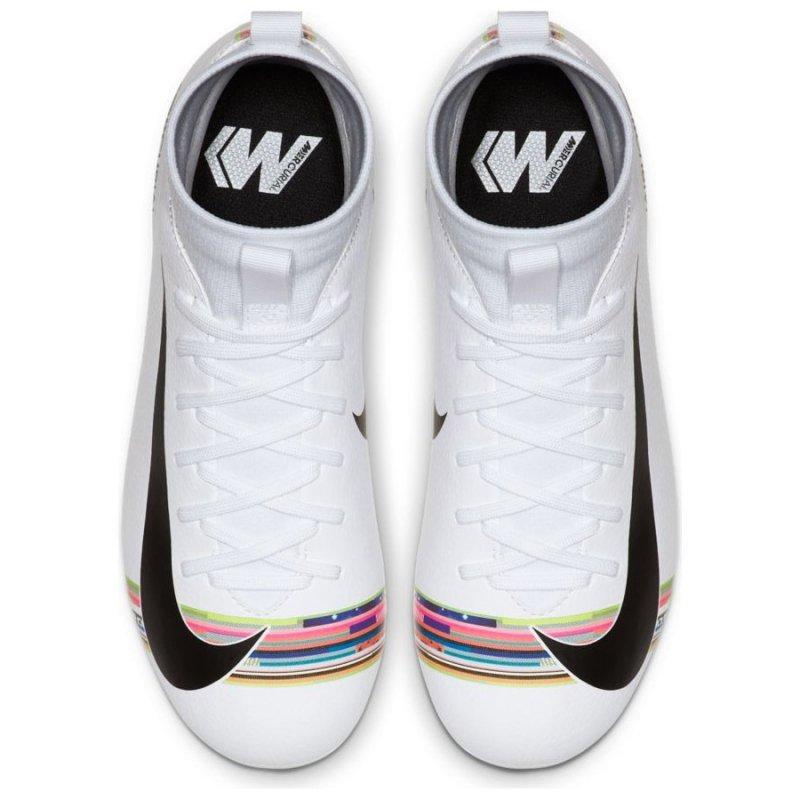 Buty Nike JR Mercurial Superfly 6 Academy GS CR7 AJ3111 109 biały 37 1/2