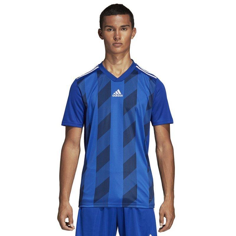 Koszulka adidas Striped 19 JSY DP3200 niebieski S