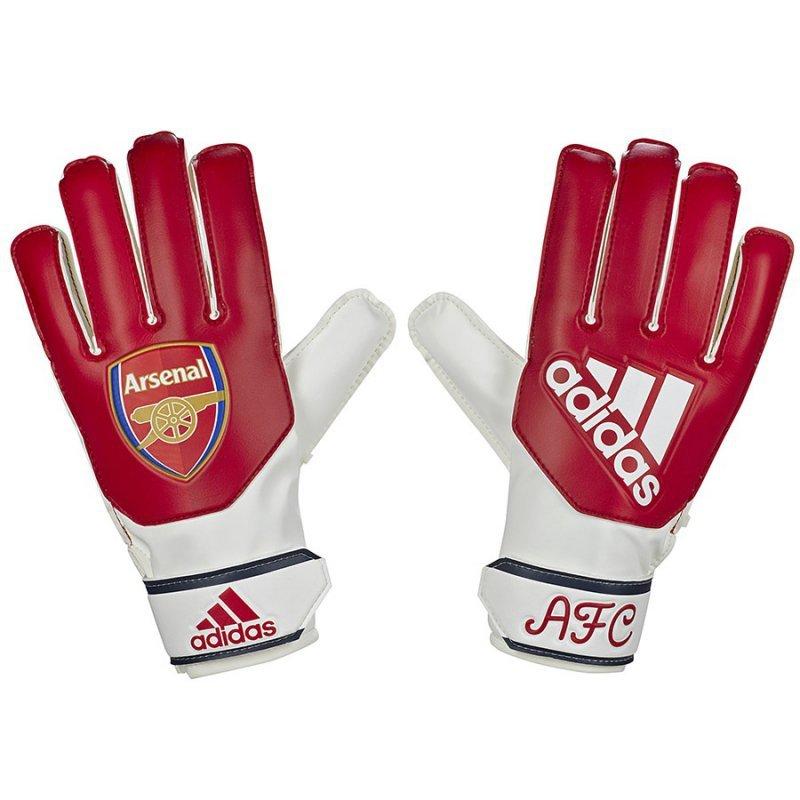 Rękawice adidas Arsenal FC YP EK4746 czerwony 6