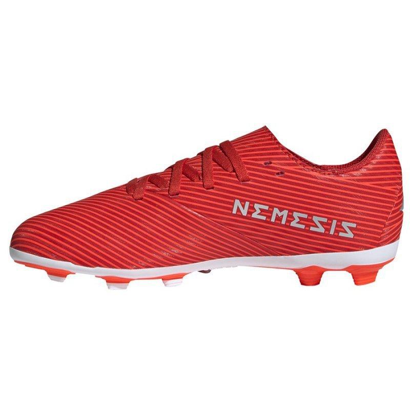 Buty adidas Nemeziz 19.4 FxG J F99948 czerwony 38