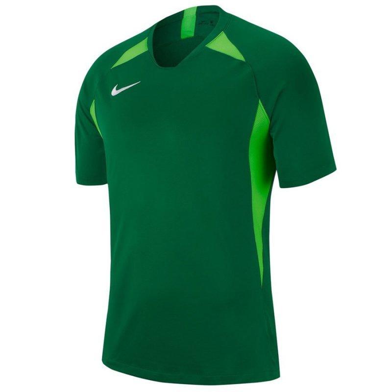 Koszulka Nike Y NK Dry Legend SS AJ1010 302 zielony XL (158-170cm)