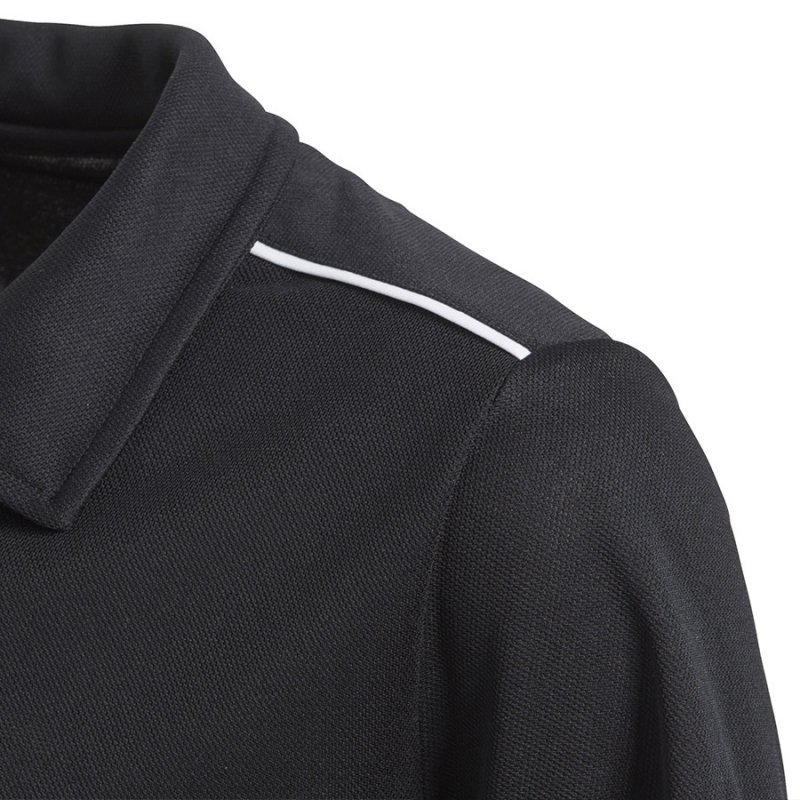 Koszulka adidas Polo Core 18 Y CE9038 czarny 152 cm