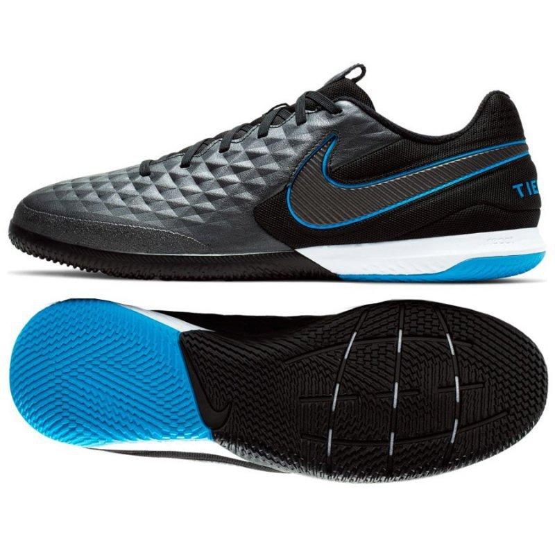 Buty Nike React Tiempo Legend 8 PRO IC AT6134 004 czarny 43