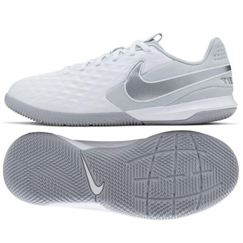 Buty Nike JR Tiempo Legend 8 Academy IC AT5735 100 biały 32