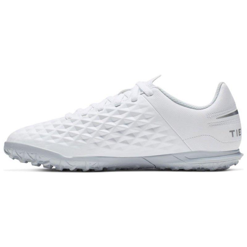 Buty Nike JR Tiempo Legend 8 Club TF AT5883 100 biały 36 1/2