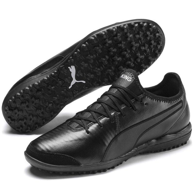 Buty Puma King Pro TT 105668 01 czarny 43