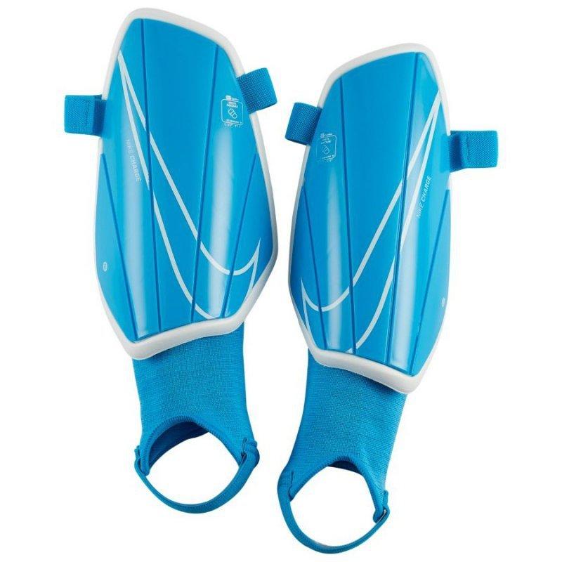 Nagolenniki Nike NK Charge GRD SP2164 486 niebieski L
