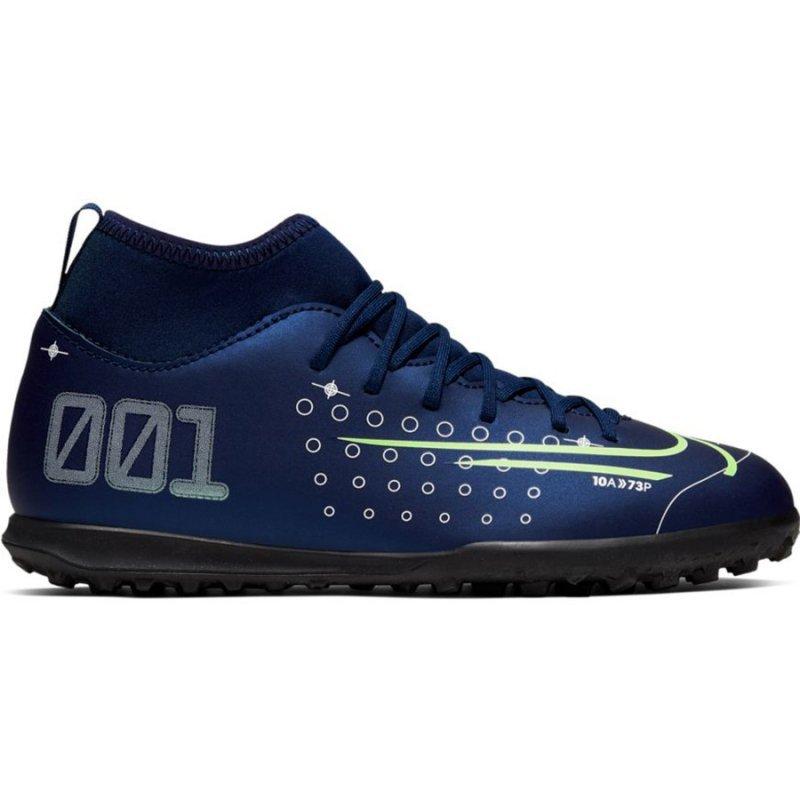Buty Nike JR Mercurial Superfly 7 Club MDS TF BQ5416 401 niebieski 37 1/2