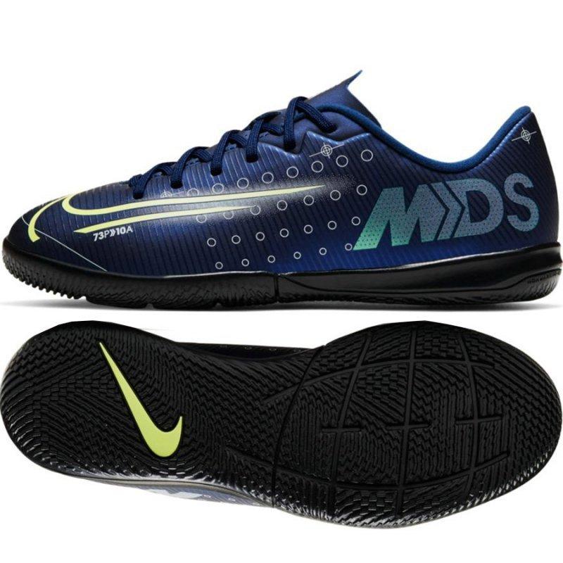Buty Nike JR Mercurial Vapor 13 Academy MDS IC CJ1175 401 niebieski 38