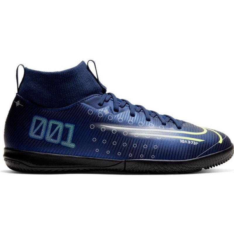 Buty Nike JR Mercurial Superfly Academy MDS IC BQ5529 401 niebieski 33