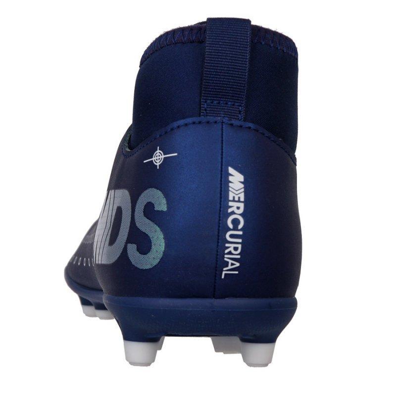 Buty Nike JR Mercurial Superfly 7 Club MDS FG/MG BQ5418 401 niebieski 36