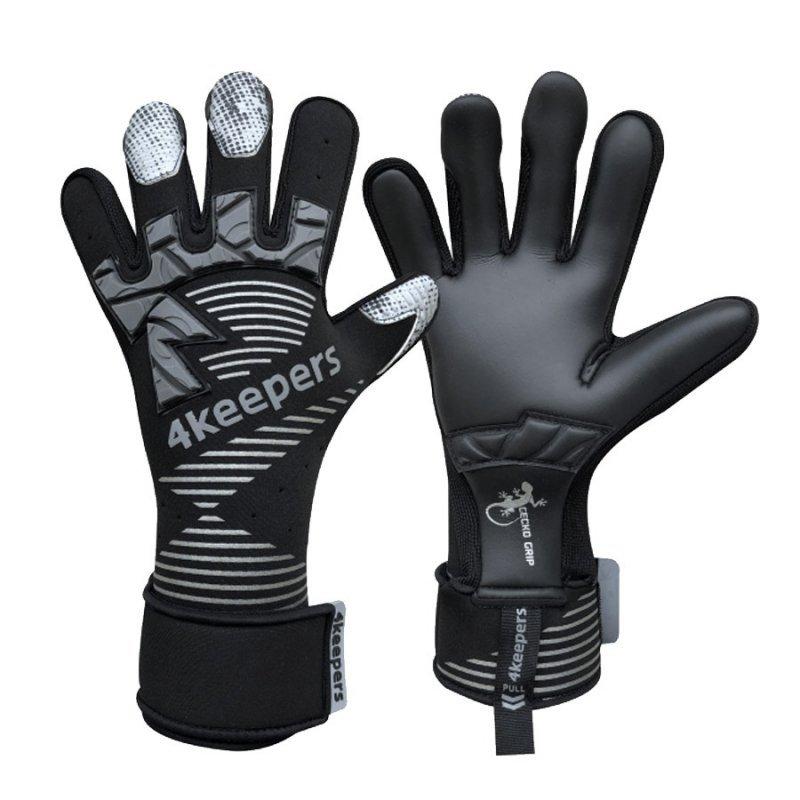Rękawice 4keepers Gecko Maspis MNC + płyn czyszczący czarny 9