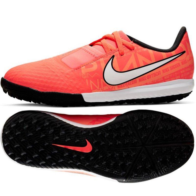 Buty Nike JR Phantom Venom Academy TF AO0377 810 pomarańczowy 34