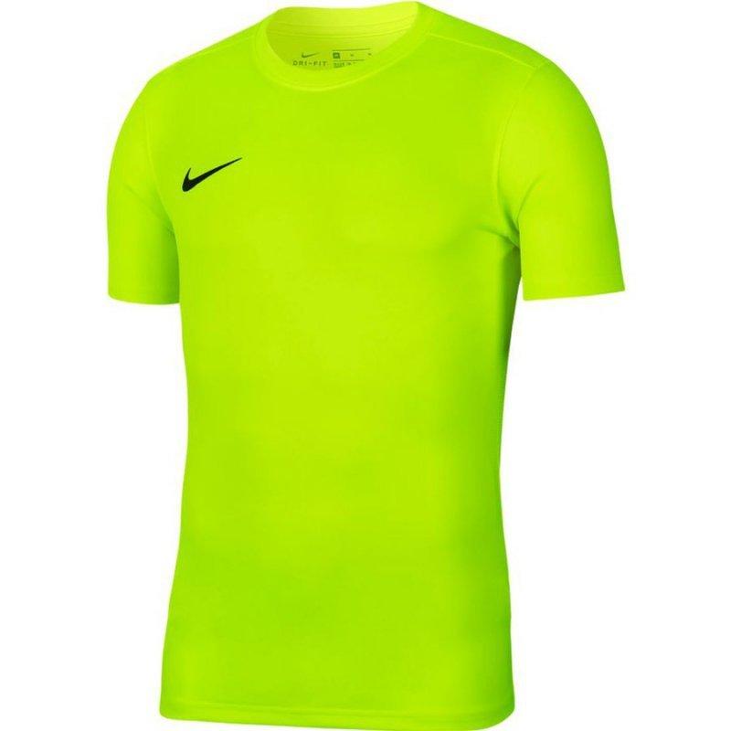 Koszulka Nike Park VII Boys BV6741 702 żółty S (128-137cm)