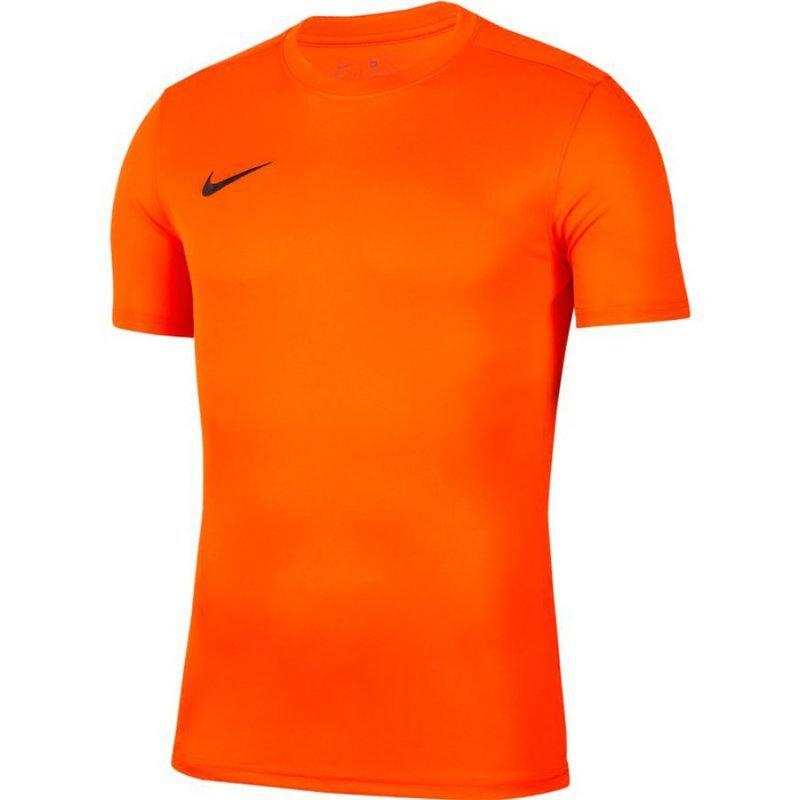 Koszulka Nike Park VII Boys BV6741 819 pomarańczowy M (137-147cm)