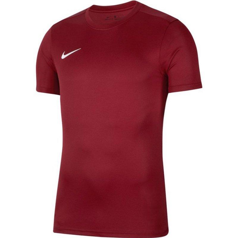 Koszulka Nike Park VII Boys BV6741 677 czerwony S (128-137cm)