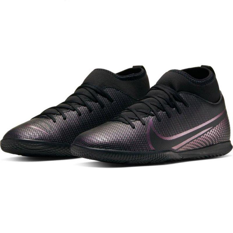 Buty Nike JR Mercurial Superfly 7 Club IC AT8153 010 czarny 38 1/2