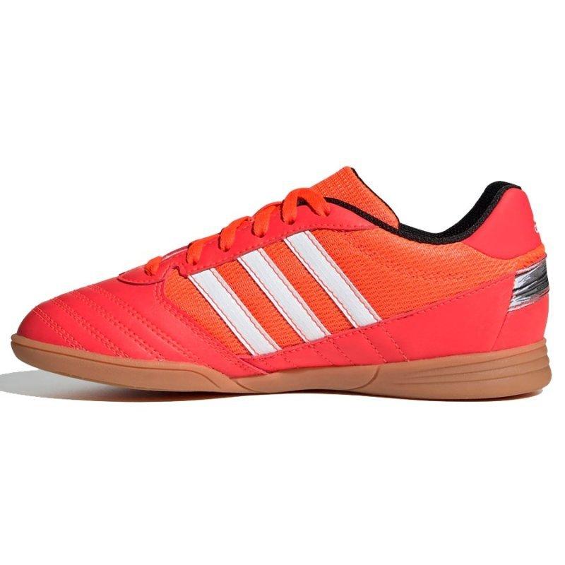 Buty adidas Super Sala J FV2639 czerwony 38 2/3