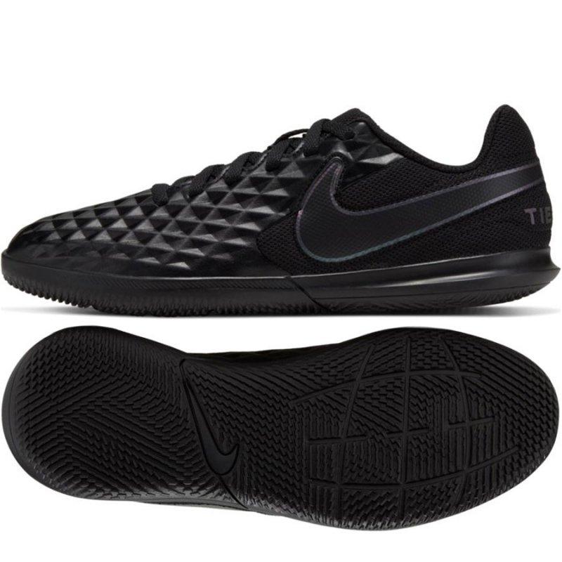 Buty Nike JR Tiempo Legend 8 Club IC AT5882 010 czarny 33
