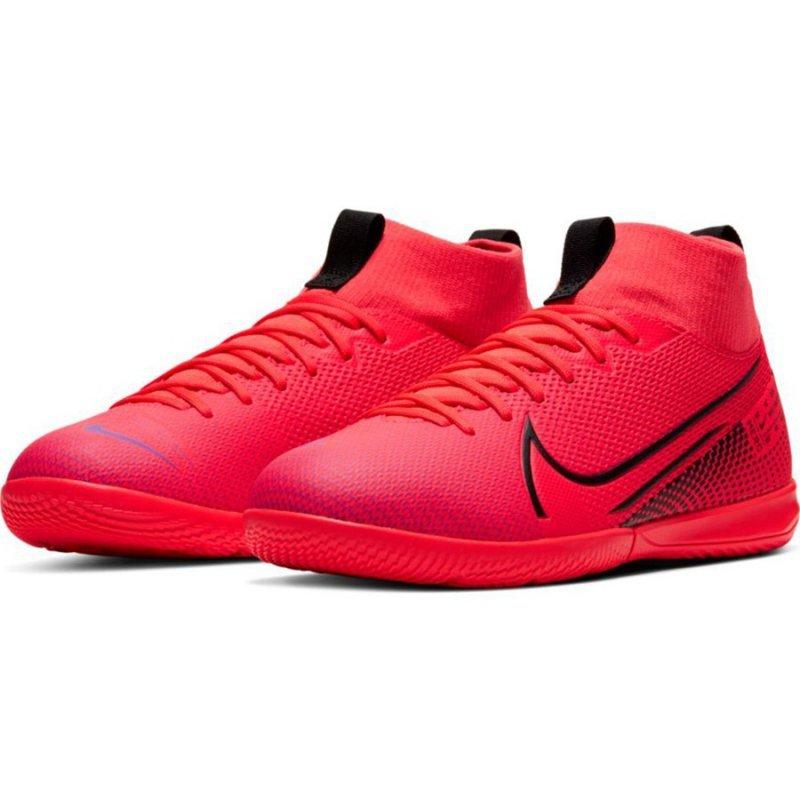 Buty Nike JR Mercurial Superfly 7 Academy IC AT8135 606 czerwony 35