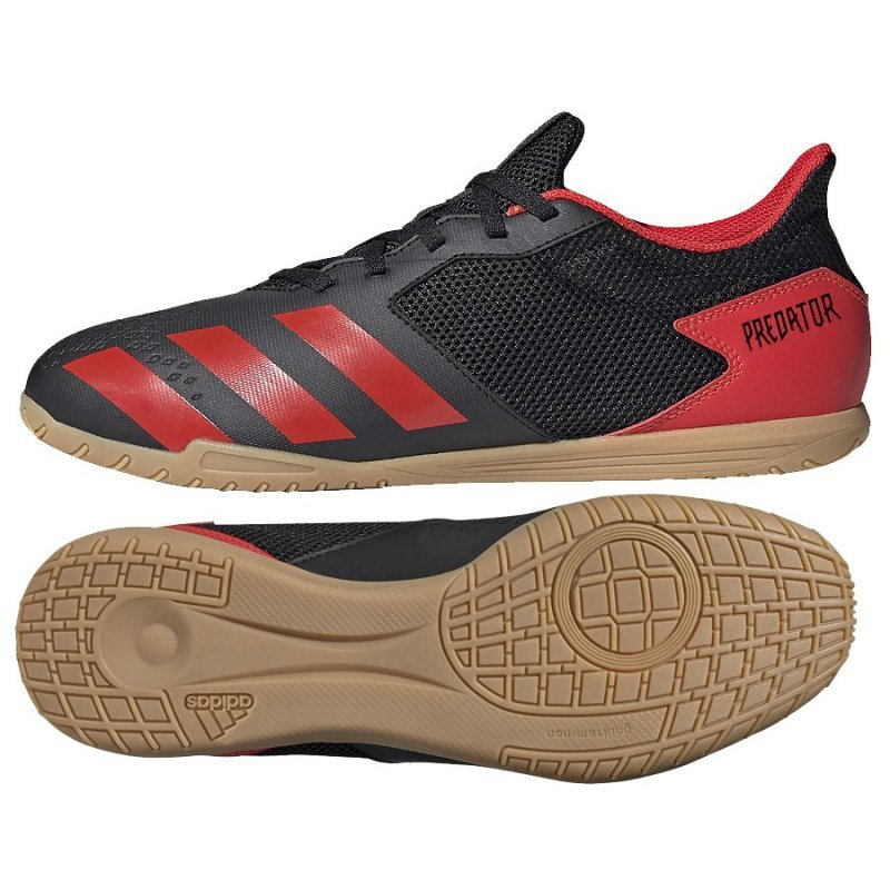 Buty adidas Predator 20.4 IN EE9580 czarny 46 2/3