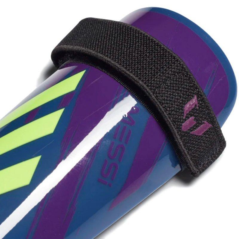 Nagolenniki adidas Messi SG MTC J FL1370 granatowy L