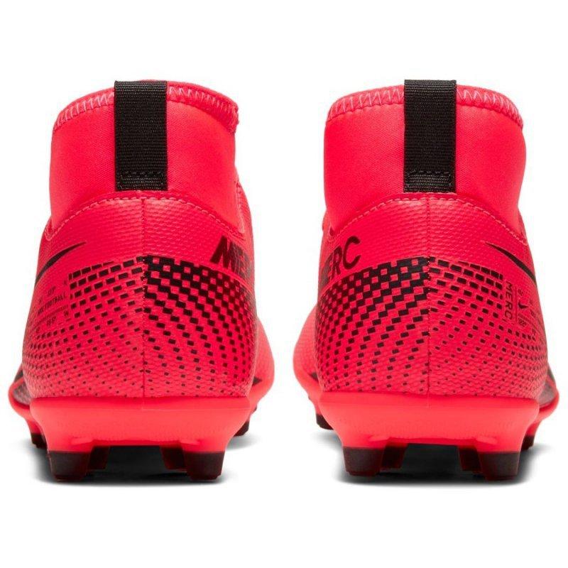 Buty Nike JR Mercurial Superfly 7 Club FG/MG AT8150 606 czerwony 34