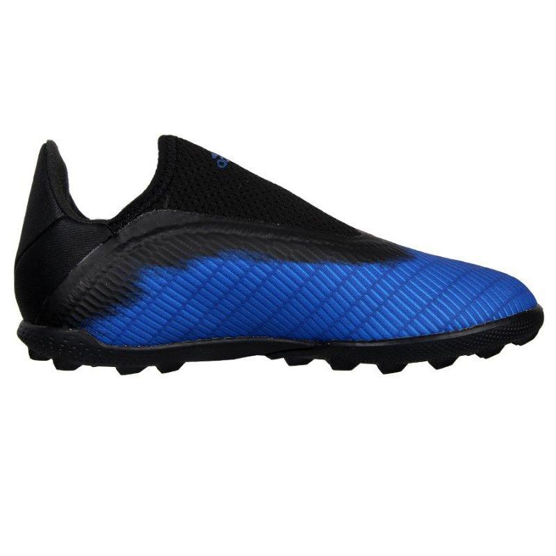Buty adidas X 19.3 TF J EG9839 niebieski 38 2/3