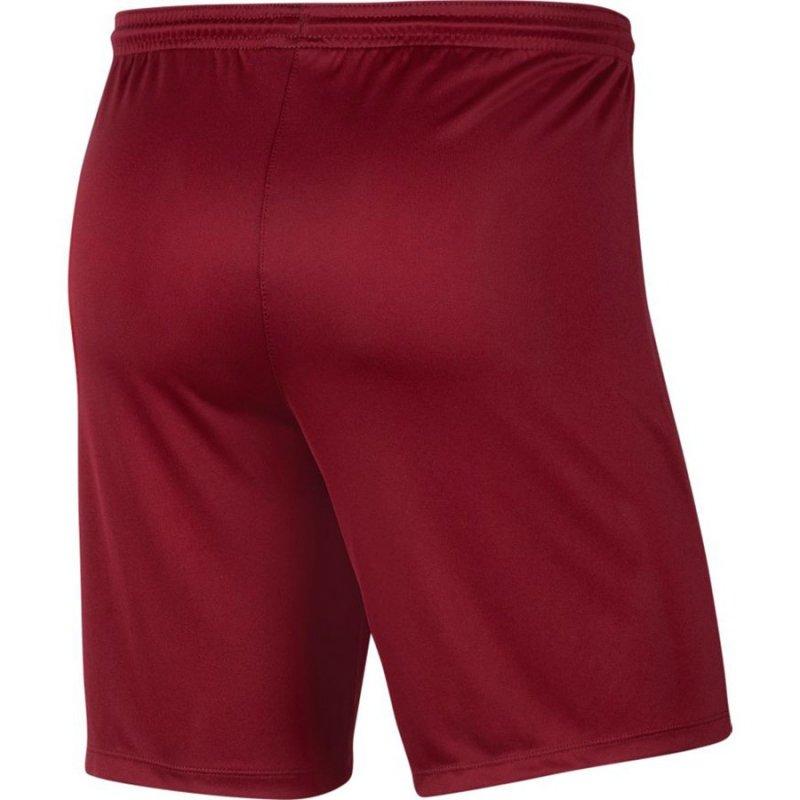 Spodenki Nike Y Park III Boys BV6865 677 czerwony M (137-147cm)
