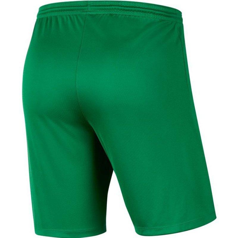 Spodenki Nike Park III BV6855 302 zielony XL