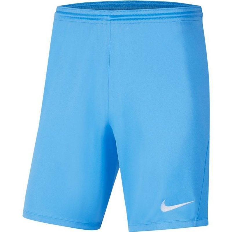 Spodenki Nike Park III BV6855 412 niebieski S