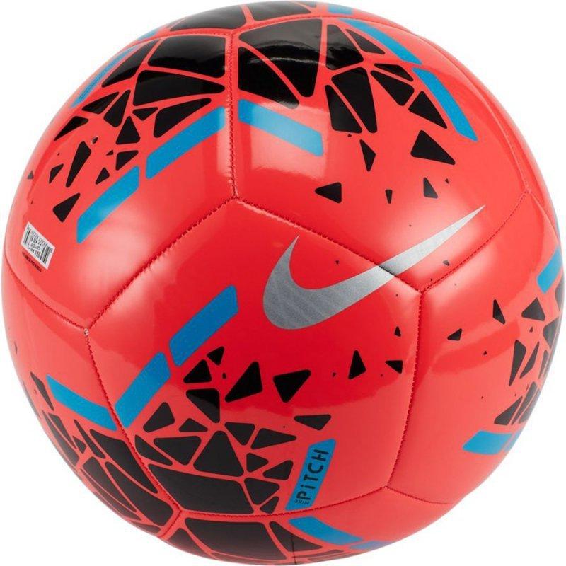 Piłka Nike Pitch SC3807 644 czerwony 5