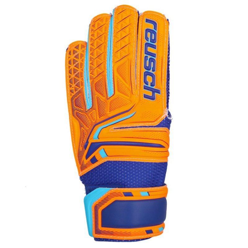 Rękawice bramkarskie Reusch Attrakt SD Open Cuff Junior 50 72 515 2290 pomarańczowy 7,5