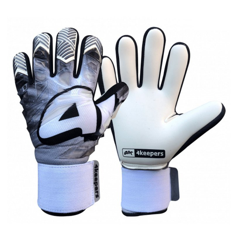Rękawice 4keepers Evo Gris NC biały 6
