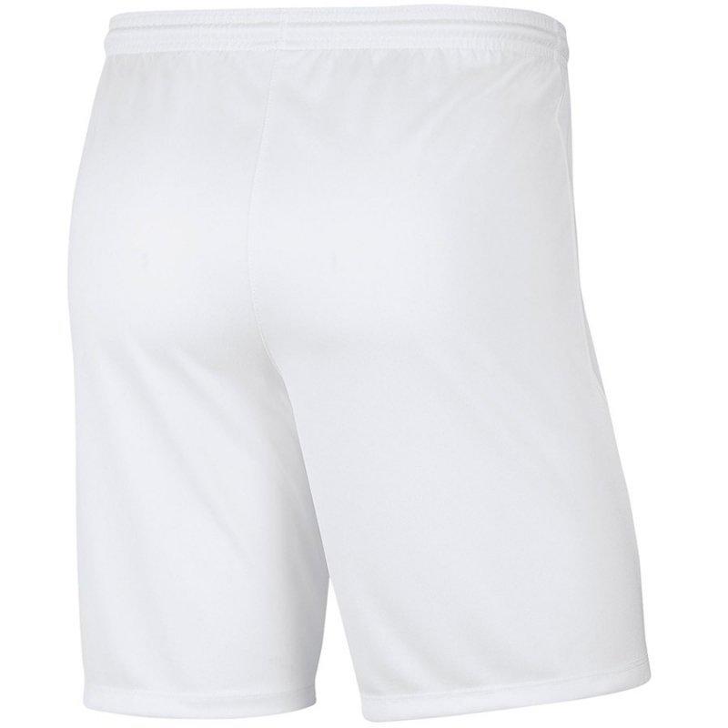 Spodenki Nike Y Park III Boys BV6865 100 biały XL (158-170cm)